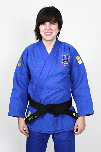 Clara Sánchez, instructura de Judo infantil